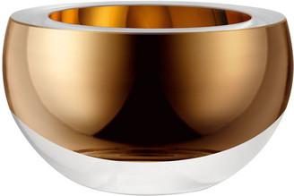 "LSA International Host Bowl Gold, 3.8"""
