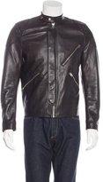 Acne Studios Neil Leather Bomber Jacket