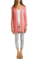 Wooden Ships Pink Cotton Cardigan
