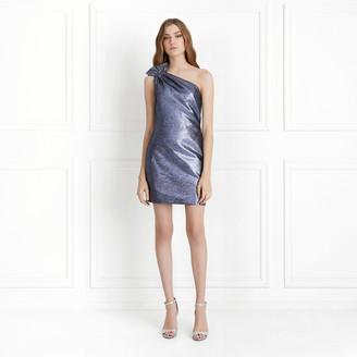 Rachel Zoe Sarrica Metallic Mini Dress