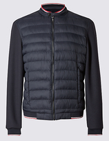 Blue Harbour Quilted Bomber Jacket With Stormweartm