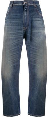 MM6 MAISON MARGIELA Blue Balloon Leg Jeans