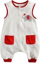 Vaenait Baby Toddler Kids 1-7Y Wearable Blanket Sleeper Elephant L