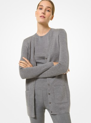 Michael Kors Collection Cashmere Cardigan