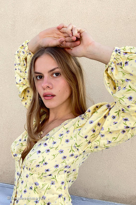 Motel Roma Button-Front Blouse