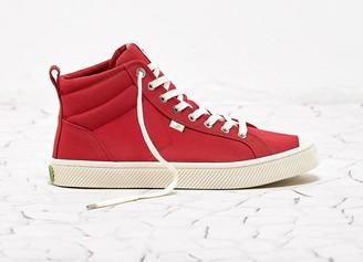 Cariuma OCA High Red Canvas Sneaker Men