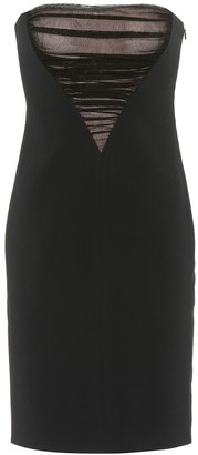 Alexander Wang Strapless crApe dress