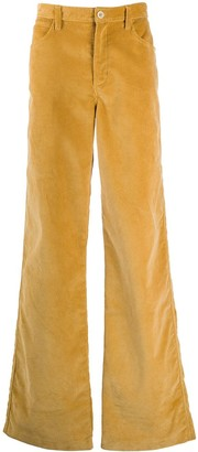 Marni Flared Leg Corduroy Trousers
