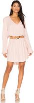Michael Lauren Quintin Long Sleeve Dress