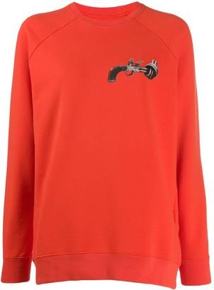 Kirin Gun Print Sweatshirt