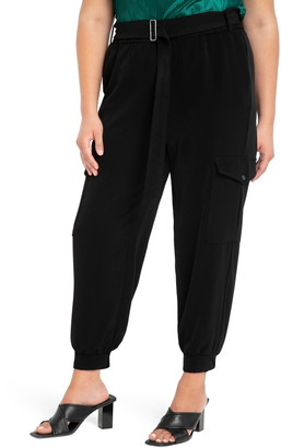 ELOQUII Relaxed Cargo Pants