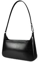 Fontanelli Classic Black Leather Handbag