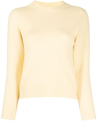 Jil Sander Crew Neck Wool Jumper
