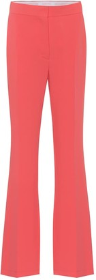 See by Chloe High-rise straight crepe pants