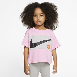 Nike Toddler Cropped Short-Sleeve Top