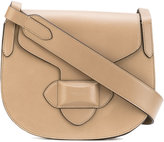Michael Kors saddle crossbody bag - women - Calf Leather - One Size