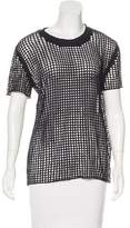 IRO Cutout Short Sleeve T-Shirt