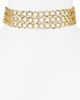 "Aqua Kingsley Chain Choker Necklace, 11.5"" - 100% Exclusive"