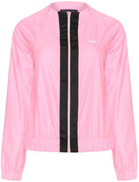 Rohnisch Plus Size Colour contrast sports jacket