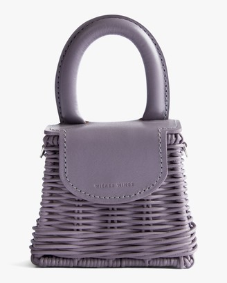 Wicker Wings Lavender Micro Bo Handbag