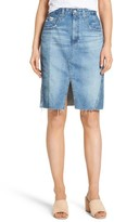 AG Jeans Women's The Emery High Waist Denim Skirt