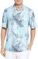 Tommy Bahama Men's Big & Tall Beyond Frond Silk Camp Shirt