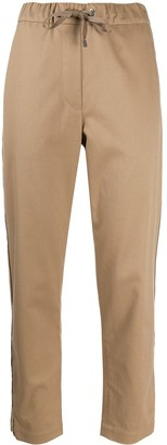 Brunello Cucinelli Elasticated Waist Tapered-Leg Trousers
