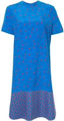 Marni floral shift dress