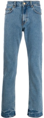 Versace Tropical Pocket straight-leg jeans