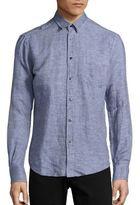 Vilebrequin Cajou Linen & Cotton Shirt