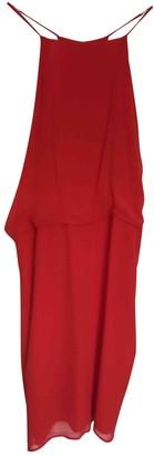 Les Prairies de Paris Orange Cotton Dress for Women