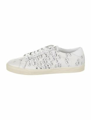 Celine 2019 Calfskin Sneakers White