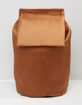 Asos Satin Unlined Backpack