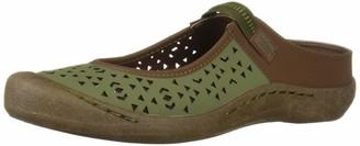Muk Luks Women's Women's Justine Sport Shoe-Olive Sandal