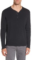 AG Jeans Men's Anders Long Sleeve Henley