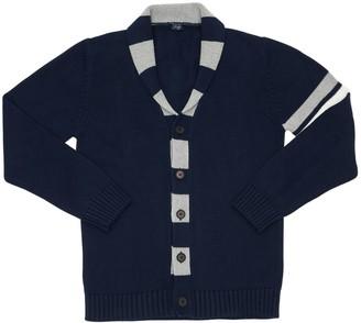 Il Gufo Cotton Knit Cardigan