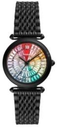 Fossil Women's Lyric Black-Tone Bracelet Watch 32mm, Limited Edition