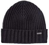 John Varvatos Wool Rib Knit Cuff Hat