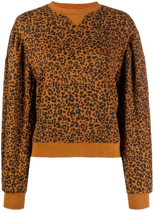 Ulla Johnson Leopard Knit Jumper