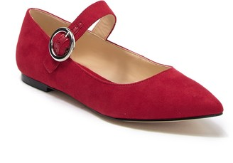 Nine West Aimee Mary Jane Flat