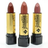 Jordana Lot Of 3 Matte Lipstick Brown Cafe Taupe Collection Shades Jdset07 + Free Earring