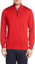 Bugatchi Men's Regular Fit Pullover Sweater