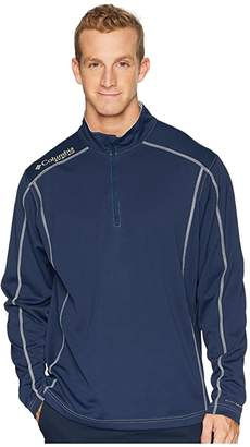 Columbia Low Drag 1/4 Zip Top (Collegiate Navy) Men's Long Sleeve Pullover