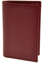 Comme des Garcons Men's 'Luxury Group' Card Case - Red