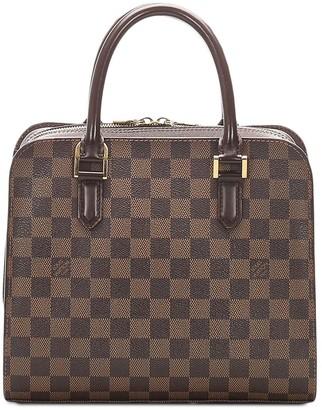 Louis Vuitton 2003 pre-owned Damier Ebene Triana tote bag