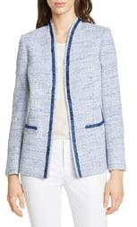 Helene Berman Colette Cotton Blend Tweed Jacket