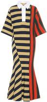 Loewe Striped cotton midi dress
