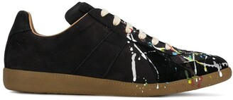 Maison Margiela paint drop Replica sneakers