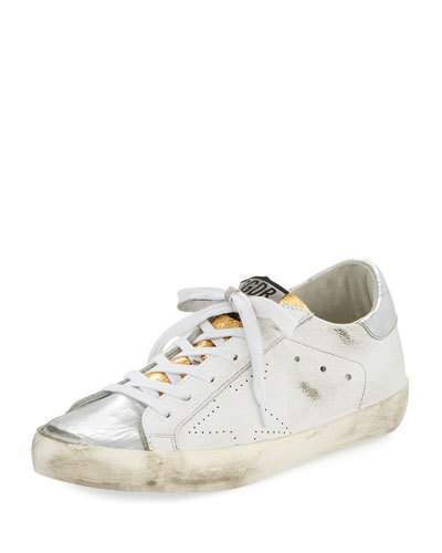 Golden Goose Superstar Colorblock Sneakers