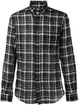 Aspesi plaid shirt - men - Cotton/Polyurethane/Lyocell - 40